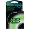 "Condón Fluorescente ""Love Light"""